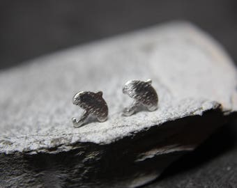 Umbrella Earrings Sterling Silver Weather