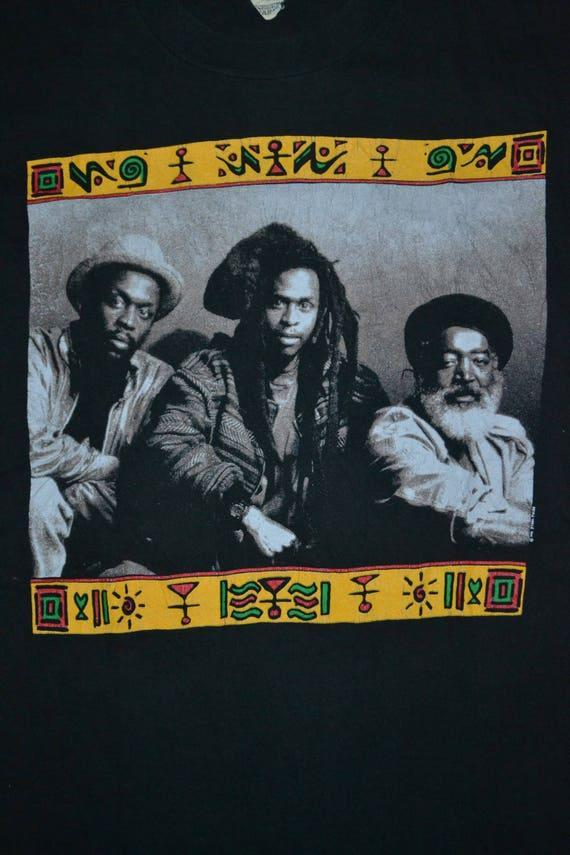 1991 PULSE 80s T Reggae STEEL gig Roots shirt shirt Concert Victims rare promo Tour Vintage 90s t EpxdTPqE