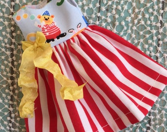 SALE - Circus Bear Dress