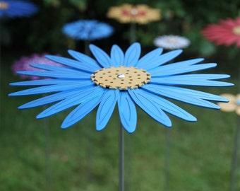 Pollination Flower Stem - Michaelmus Daisy Light Blue
