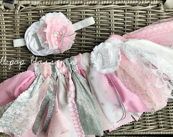 Pink and Silver Winter ONEderland birthday outfit, tutu and headband. ONE tutu, Snowflake birthday, Winter Wonderland