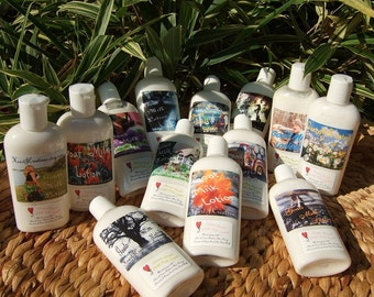GOAT MILK LOTION  with Honey Shea Butter  and Oils from Avocado Grapeseed Jojoba U Choose Scent
