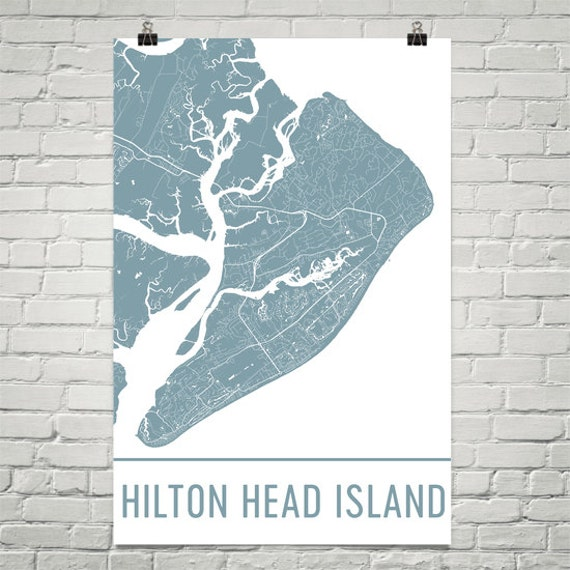 Map Of Hilton Head Island Streets