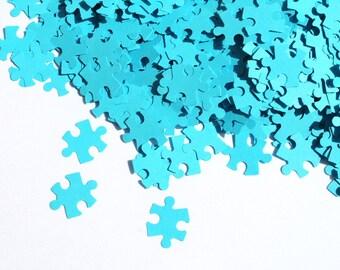 200 Puzzle Confetti / Customized Puzzle/ Various Colours / Rustic Wedding, Table Decor