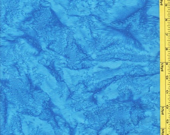 Batik Fabric - Sun Drenched Bali - 07088-50 - Beautiful Blue