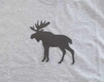 Moose Youth Shirt! Sz S-XL! Made to Order! NEW!! Bigger sizes available by request!!