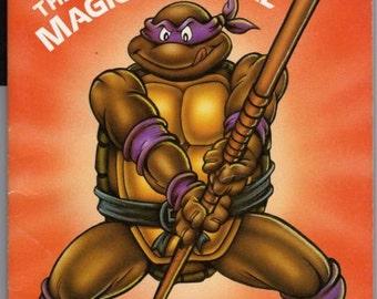 Ninja Book, Kids Book, Children's Book, Ninja, Ninja Toys, 1990, Ninja Comic Book