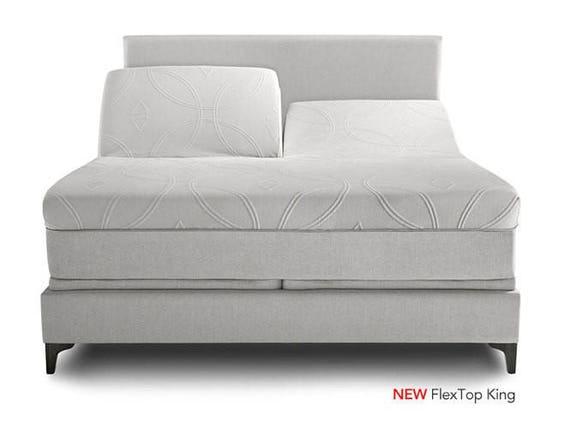 sheets for flex top split top beds only the head is split. Black Bedroom Furniture Sets. Home Design Ideas