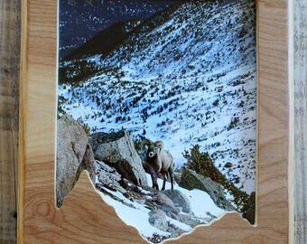 Wooden Mountain Frame