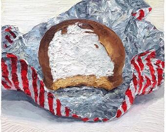 Tunnock's Teacake -original oil painting