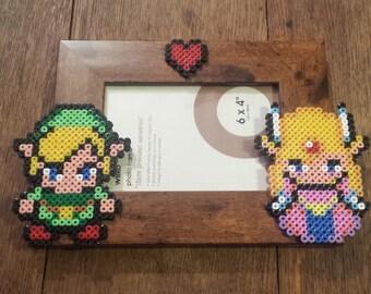 """The Legend of Zelda, Link and Zelda Photo Frame 6"""" x 4"""""""
