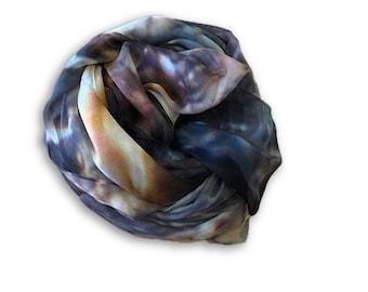 Topaz Design Sarong Size Silk Scarf