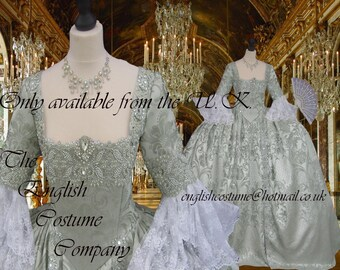 Heavily beaded. Venice Marie Antoinette Versailles Rococo.Colonial Georgian 18thc .