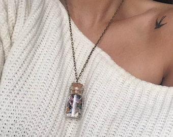Magic Spell Bottle Necklace