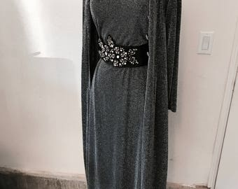 Grey Gown with Jacket