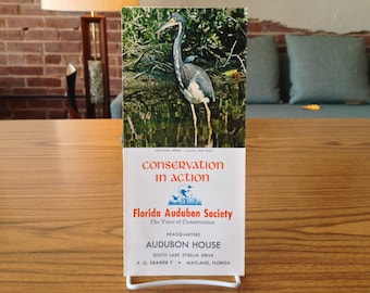 Conservation In Action Florida Audubon Society Brochure