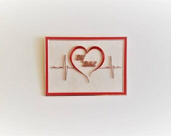 String Art Heart With Name, Custom String Art, Name Art, Name Home Decor, Last Name Sign, Custom Sign