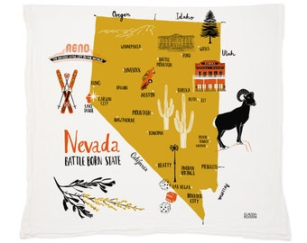 Nevada Tea Towel