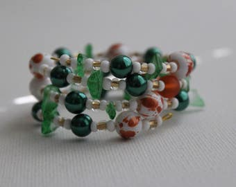 Leprechaun- Coil Bracelet