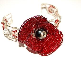 Poppy Statement Bracelet