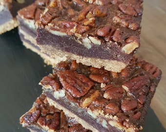 Belgian Chocolate Pecan Pie Brownie Tray