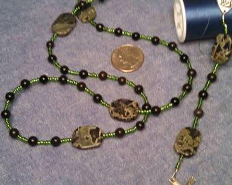 San Pio & Onyx rosary