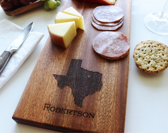 Cheese Board, State Cheese Board, Serving Platter, State Cutting Board, Housewarming Gift, Wedding, Anniversary Gift, Boyfriend, Husband