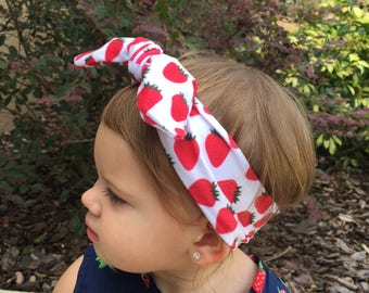 Strawberry knot head wrap