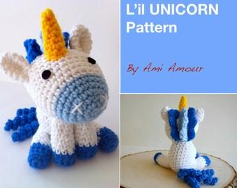 L'il Unicorn pattern amigurumi crochet