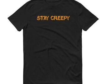 Funny Halloween's Shirt for Men Stay Creepy