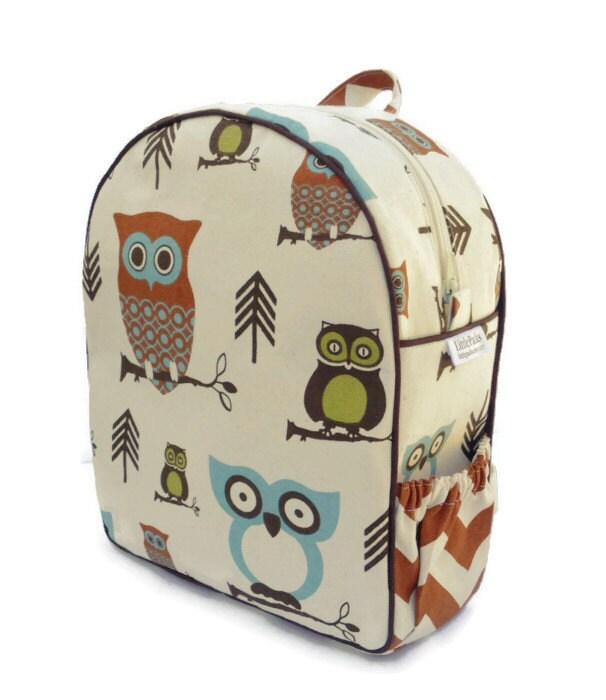 Toddler Backpack Preschool Hooty Owl