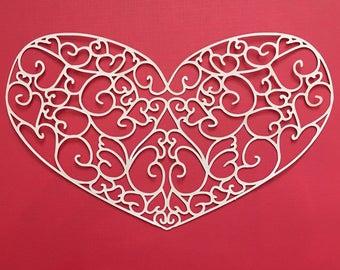 Swirly Heart File