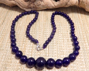 Amthyst Bead Healing Necklace Occult Wire Wrapping Crafts Protection Healing Stone Jade Gift Holiday Christmas