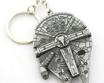 Millennium Falcon Star Wars Keyring - FIRST CLASS FREE