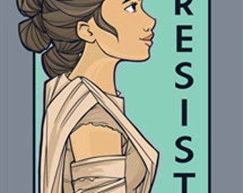 Resist- She Series Mediuml Print (Item 03-414-BB)