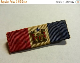 Spring Sale Original WW2 US Engineers Corps Sweetheart Ribbon