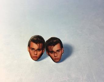 Johnny Depp - Crybaby Stud Earrings