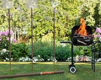 Outdoor Garden Incense Nag Champa All-natural Giant 5 foot 4 foot 3 foot tall up to 14 hour burn on Giant stick
