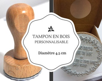 Stamp custom logo, text, custom stamp custom stamp, rubber stamp wood, create a personalized address stamp