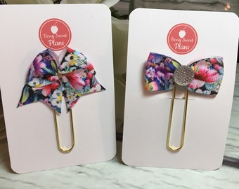 Hawaiian Vacation Planner Bow - your choice of style, Planner Accessories, TN Accessories