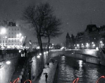 """Photo Art Paris """"PARIS in the rain"""""""