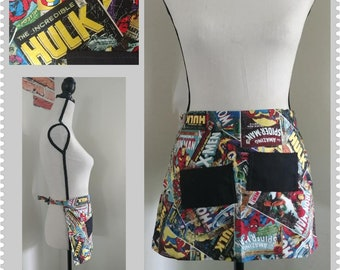Super Hero Child's Half Apron