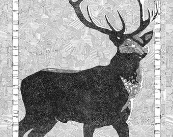 Birch Buck PDF Print