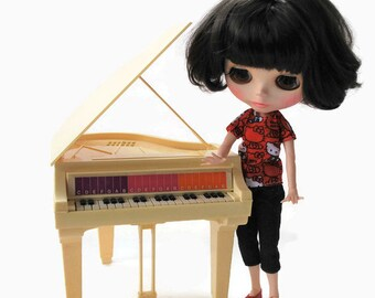 1981 Barbie Electronic Grand Piano, Vintage Piano Toy, Mattel Barbie Electronic Piano, Barbie Doll Collectibles