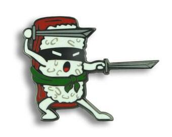 Sushi Ninja Sword - Enamel Pin