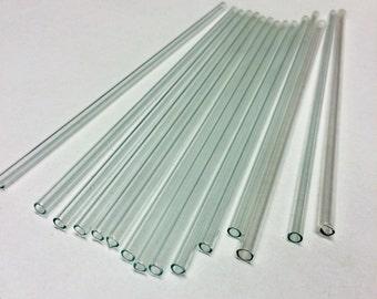 10pcs laboratory glass tubing 25cm long OD6mm  ID4mm glass tubes blowing tubing lab glassware chemistry