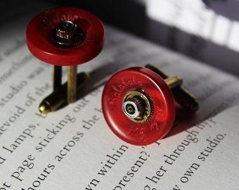 Steampunk Button Cufflinks
