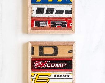 Hockey Stick Coasters (set of 2)