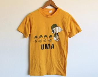 XSMALL Vintage Snoopy UMA Soft and Thin T-Shirt