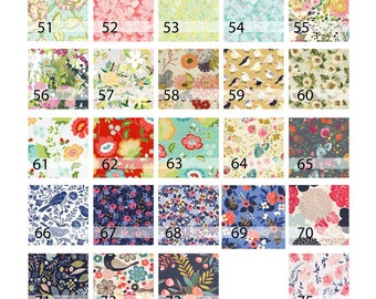 Mama Bleu Designs Fabric Charts of Various Florals and Geometric Pattern Choices for Bags, Not for Sale, FOR REFERENCE ONLY updated Jan 2018